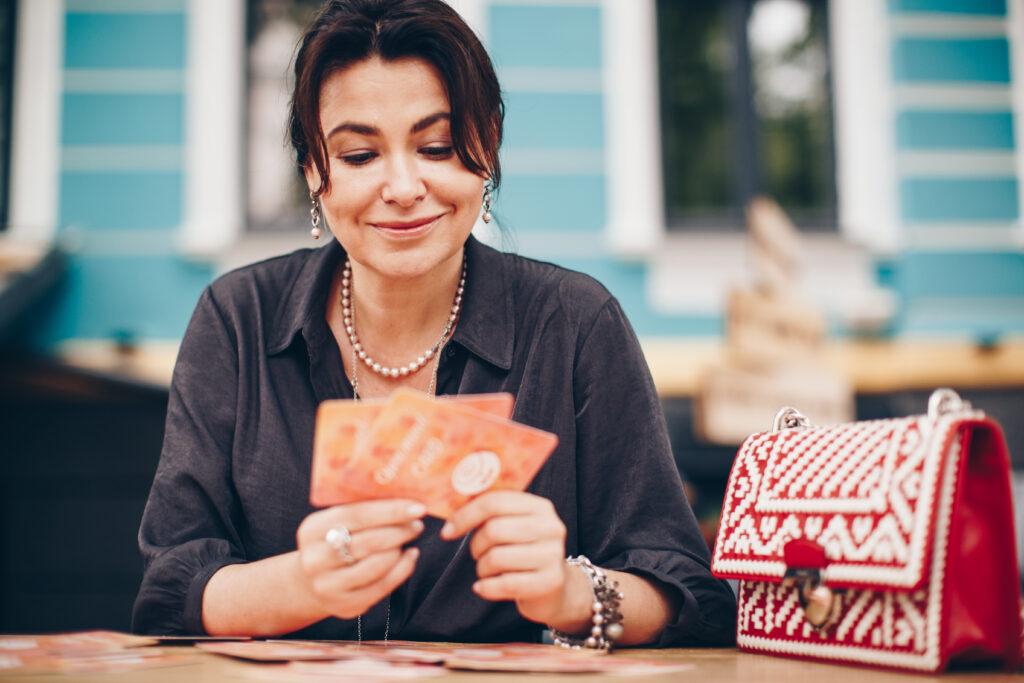Карты момента — удовольствие от прикосновения — 56 карт из ламинированного картона, приятные на ощупь.